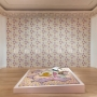 Marc Camille Chaimowicz, vue d'installation  Your Place or Mine..., Jewish Museum (New York), 2018