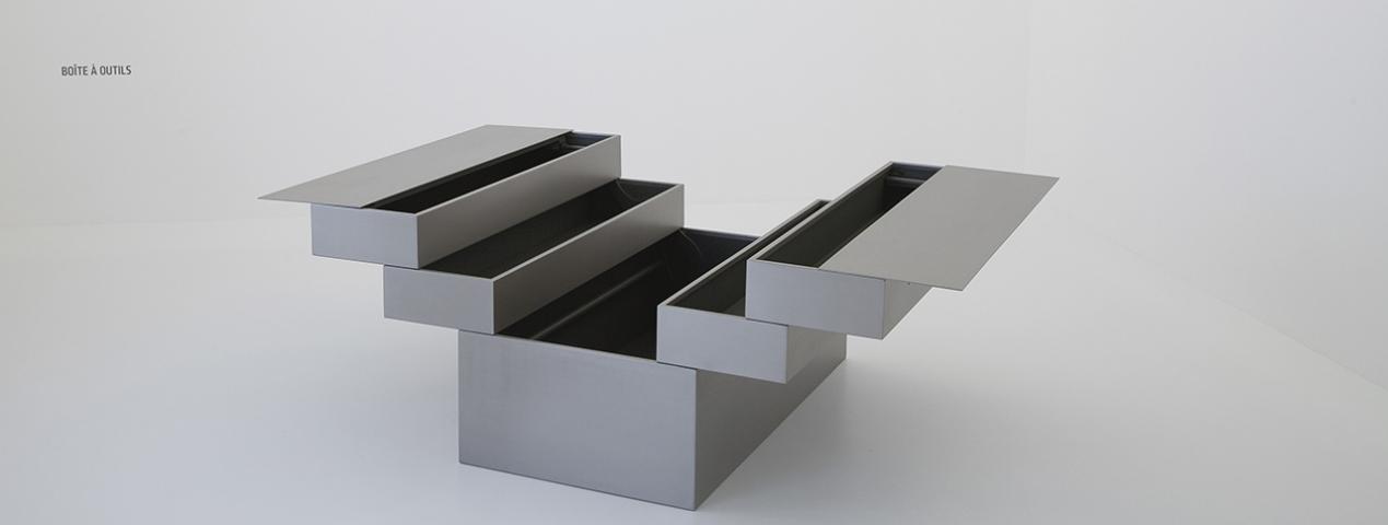 Jean nouvel furniture gagosian gallery paris for Jean nouvel design