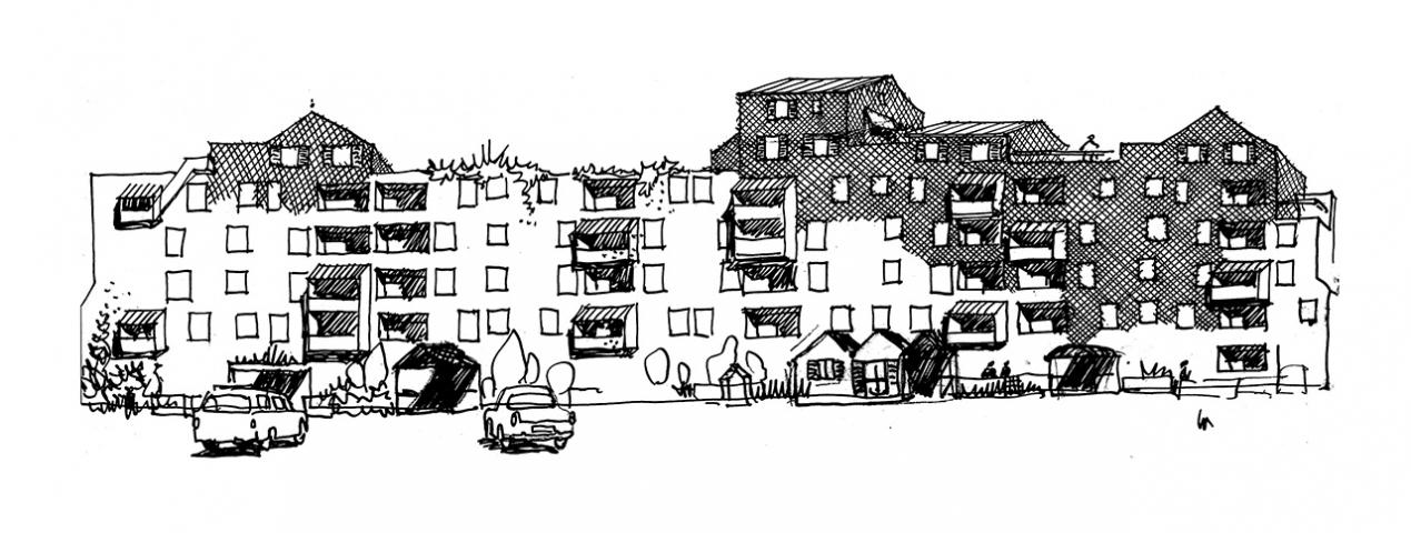 Tout est paysage une architecture habit e simone et lucien kroll cite de - Lucien et simone kroll ...