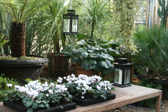Paysages int rieurs et jardin d hiver domaine de chaumont sur loire - Verriere jardin d hiver ...