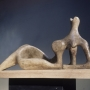 Henry Moore, Working Model for Reclining Figure Festival, 1950