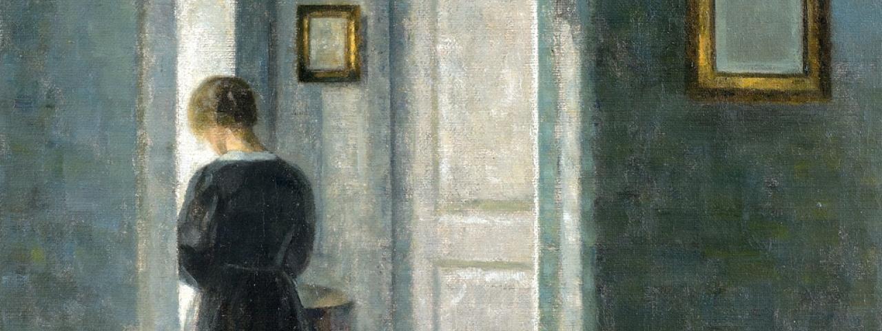 Hammershoi Le Maitre De La Peinture Danoise Musee Jacquemart Andre Paris