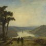 James Baker Pyne (1800 - 1870), Vue de l'Avon depuis Durdham Down (View of the Avon from Durdham Down), 1829. Huile sur toile, 90.2 x 122.2 cm, K585 © Bristol, Bristol Museum & Art Gallery