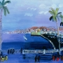 Raoul Dufy, Baie des Anges, Nice,